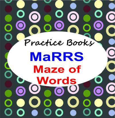 how to prepare child for marrs maze of words books