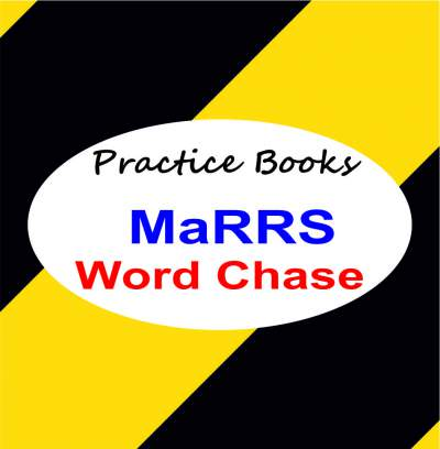 how to prepare child for marrs word chase books