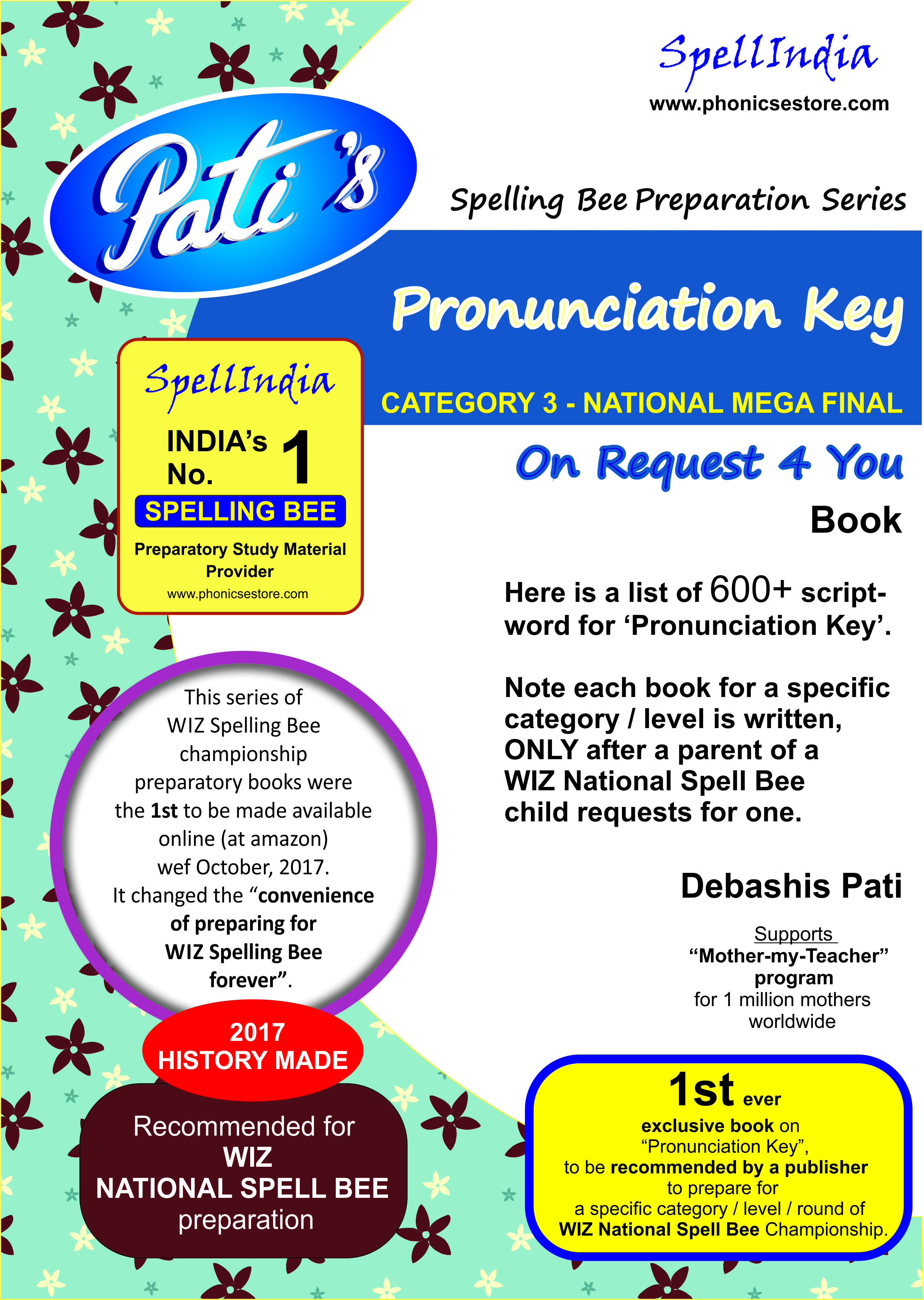 wiz pronunciation key state category 3 book